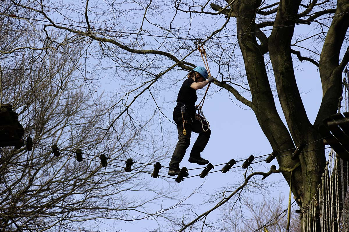 climbing park, teutoburg forest