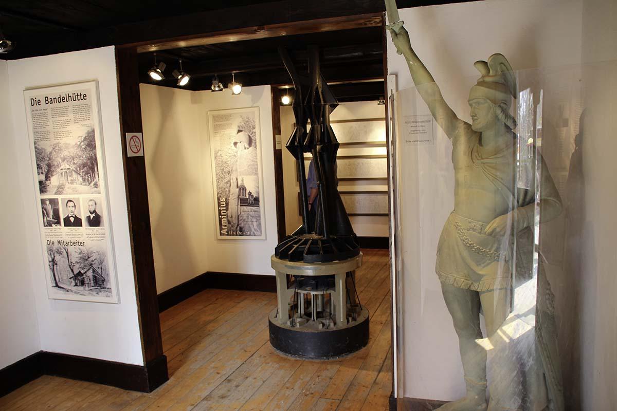 Hermann Monument Museum, Teutoburg Forest, Germany