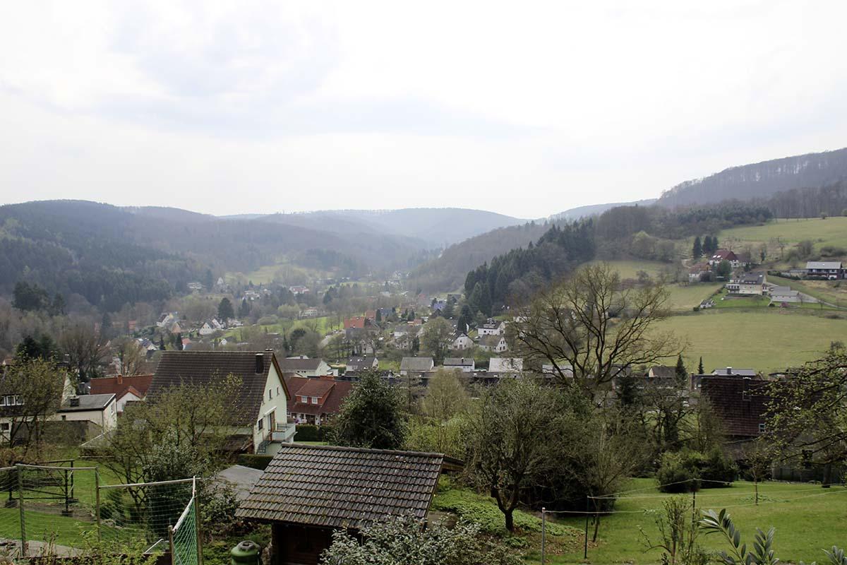 European long distance hiking trail E1, Herman route, Germany