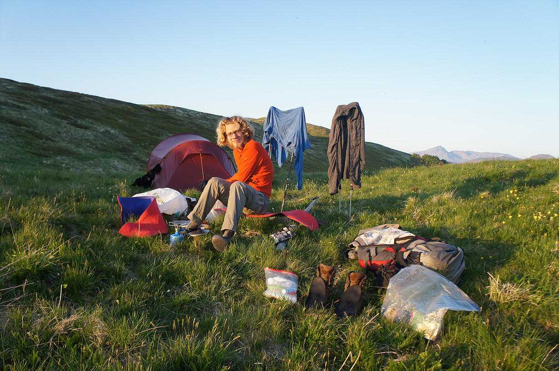 Zu zweit auf dem Europäischen Fernwanderweg E1 vom Nordkap nach Sizilien ©Lena&Thilo